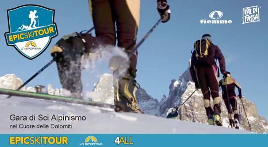 """la sportiva epic ski tour """"La Sportiva Epic Ski Tour"""" il 22 e 23 febbraio in Val di Fiemme"""