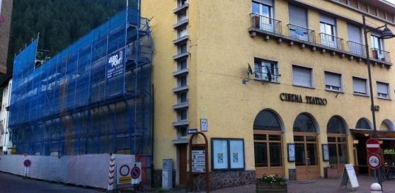 lavori teatro comunale predazzo CIAK, SI APRE! Il nuovo Cinema Teatro Comunale di Predazzo