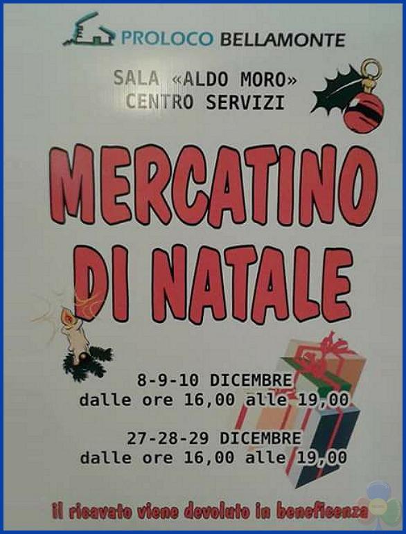 mercatino natale bellamonte Il Villaggio sotto l'Albero di Predazzo dall8 dicembre