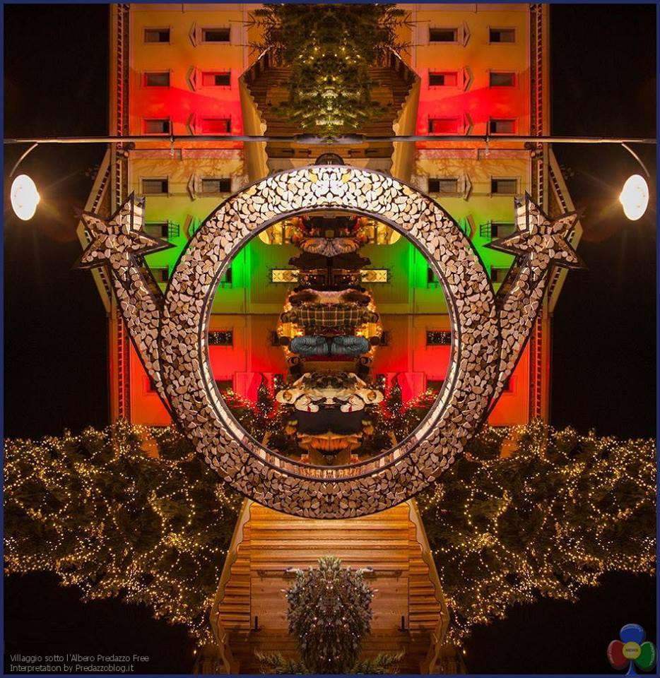 mercatino natale predazzo free interpretation Il Villaggio sotto l'Albero di Predazzo dall8 dicembre
