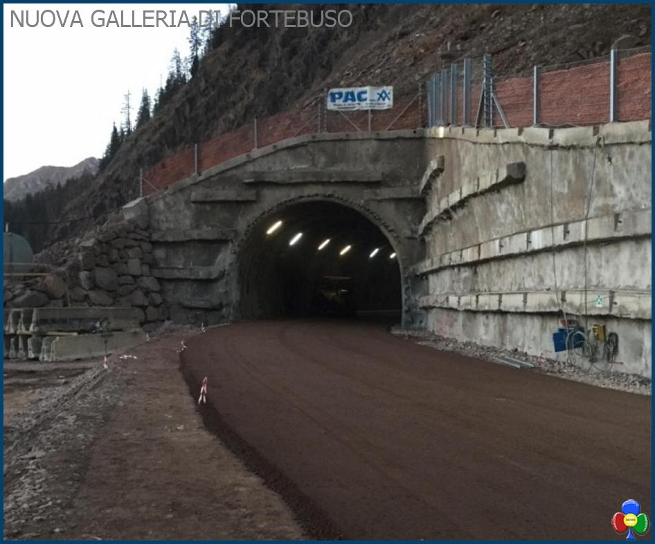 nuova galleria fortebuso Riapre la SS 50 del Rolle con la nuova galleria Forte Buso