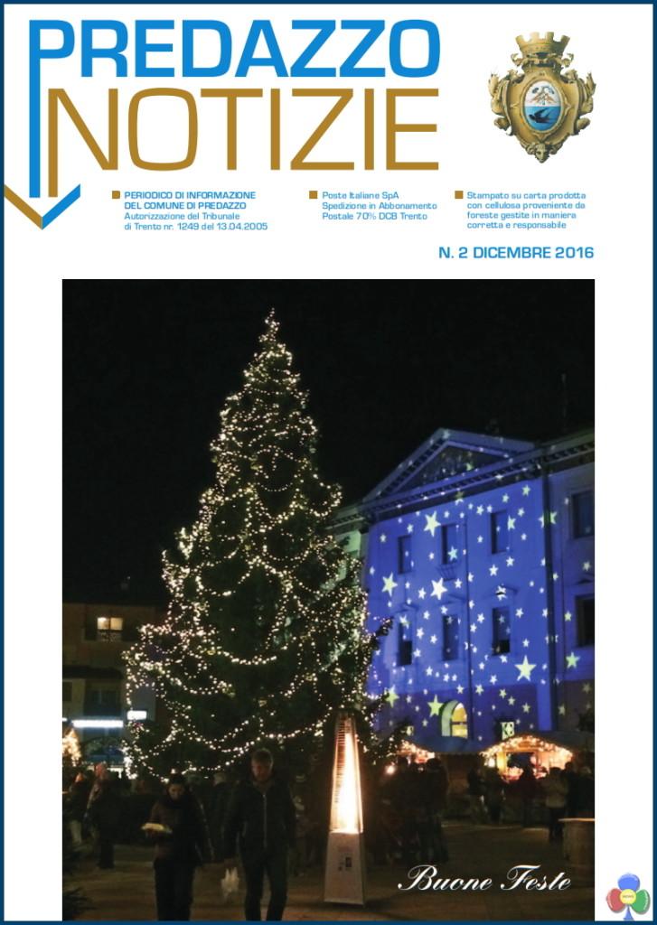 predazzo notizie copertina dic 16 727x1024 Predazzo Notizie, il giornalino comunale dicembre 2016
