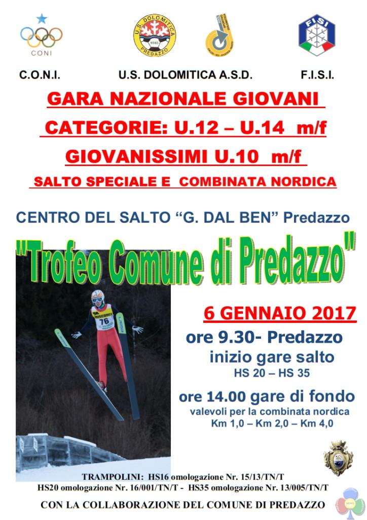 trofeo comune di predazzo salto 2017 724x1024 Salto e Combinata Nordica, Trofeo Comune di Predazzo