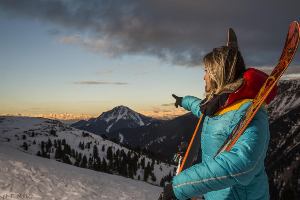 TRENTINO SKI SUNRISE Alpe di Pampeago Rifugio Agnello Fototeca Trentino Marketing foto F. Modica 1024x682 Trentino Ski Sunrise: Tocchiamo l'alba con un dito