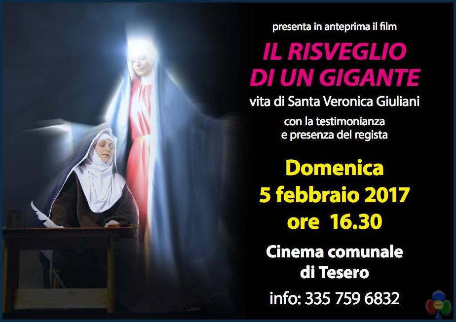 il risveglio di un gigante santa veronica giuliani Il Risveglio di un Gigante al cinema la vita di S. Veronica Giuliani