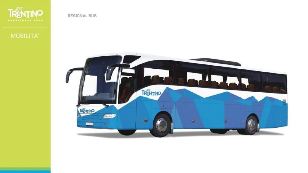 marchio trentino autobus 1024x577 I mezzi pubblici saranno griffati   Trentino