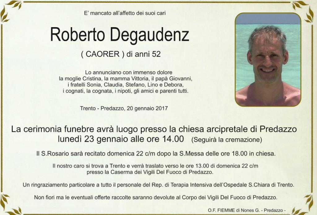 roberto degaudenz 1024x696 Avvisi parrocchia 22/29 genn. Necrologio Roberto Degaudenz