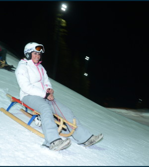 slittino ski center latemar