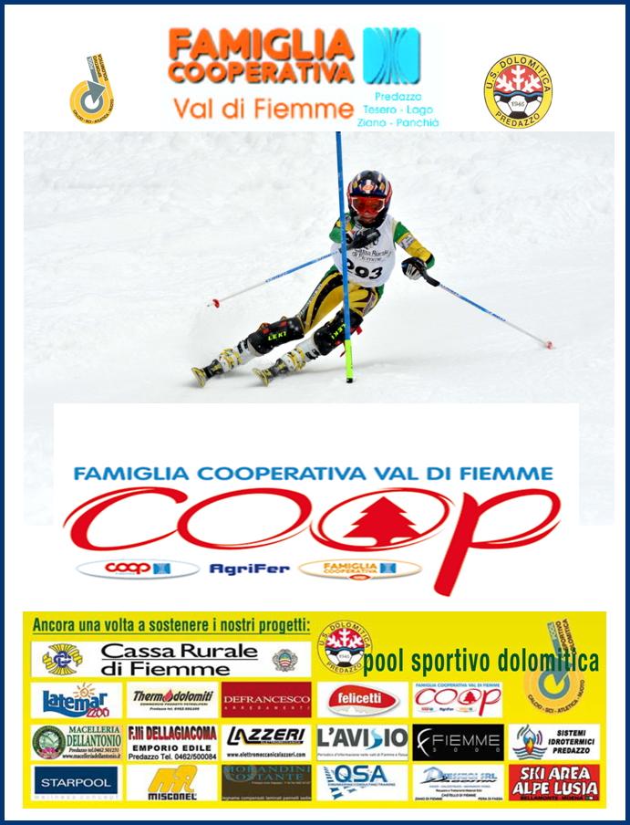 trofeo famiglia cooperativa dolomitica 2017 Trofeo Famiglia Cooperativa 2017, Gara di Slalom Speciale