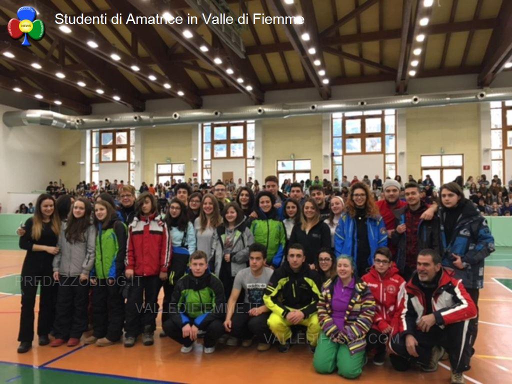amatrice predazzo fiemme studenti solidali2 Amici di Amatrice, fate buon viaggio!