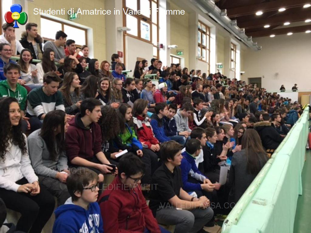 amatrice predazzo fiemme studenti solidali3 La meravigliosa settimana sulla neve dei ragazzi di Amatrice