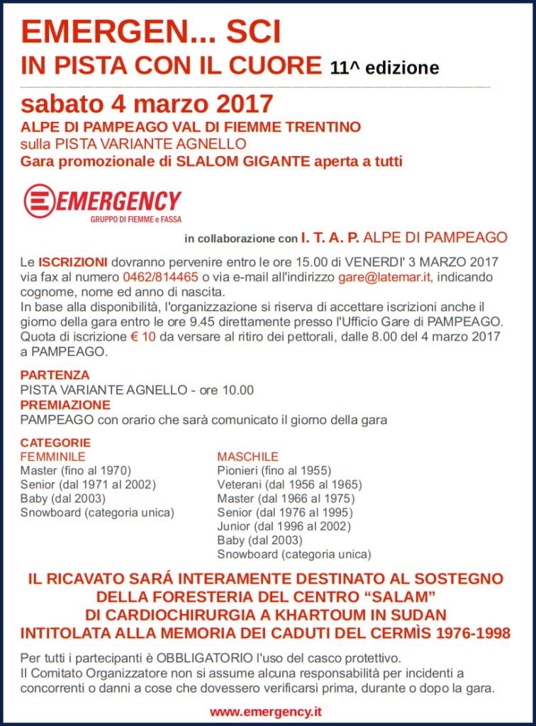 emergensci 2017 756x1024 EMERGEN... SCI IN PISTA CON IL CUORE 11^ edizione