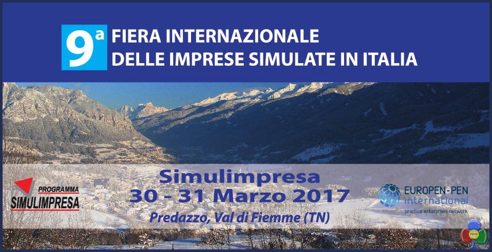 fiera internazionale imprese simulate predazzo invito 2017 Predazzo, 9a Fiera Internazionale delle Imprese Simulate