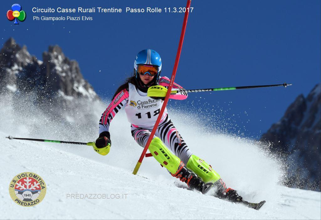 gare sci alpino passo rolle 2017 circuito casse rurali trentine1 Sci Alpino a Passo Rolle, risultati Circuito Casse Rurali Trentine