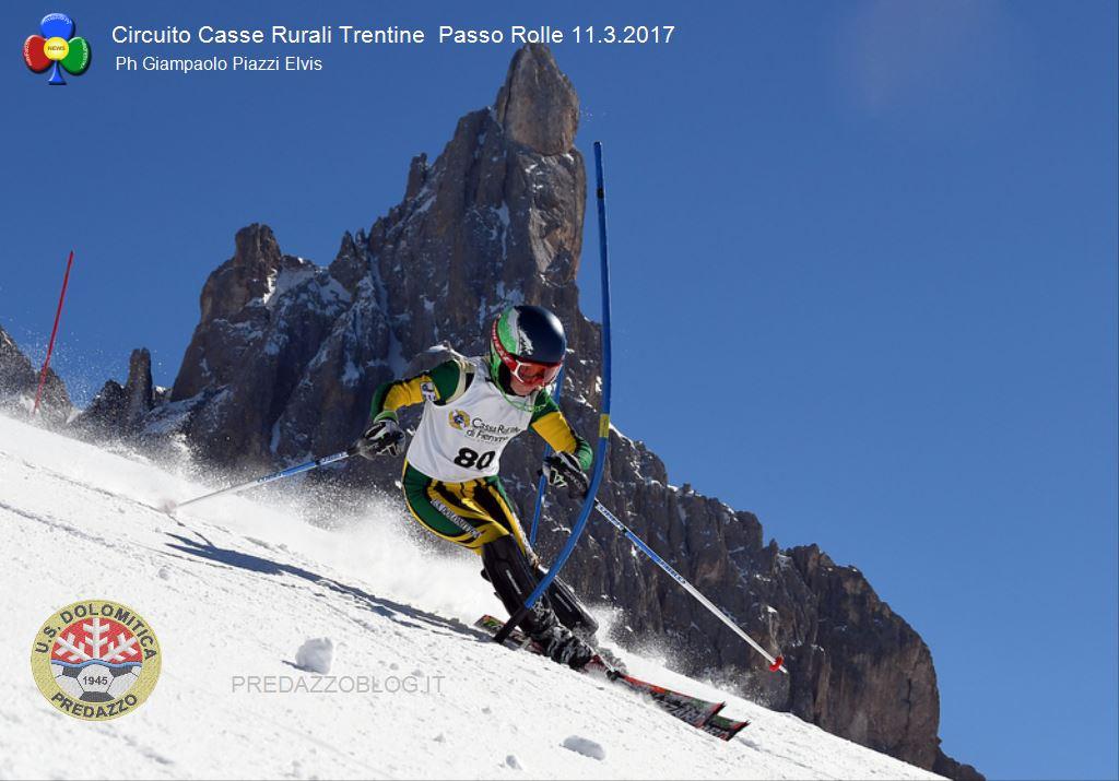 gare sci alpino passo rolle 2017 circuito casse rurali trentine4 Sci Alpino a Passo Rolle, risultati Circuito Casse Rurali Trentine