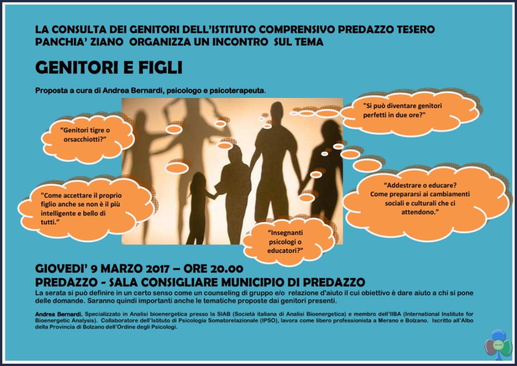 serata consulta genitori predazzo 1024x725 Genitori e Figli, serata con lo psicologo Andrea Bernardi