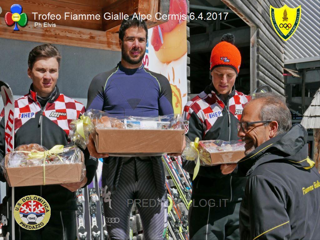 Trofeo Fiamme Gialle 2017 cermis slalom4 A Giordano Ronci lo slalom FIS del Cermis e il Trofeo Fiamme Gialle