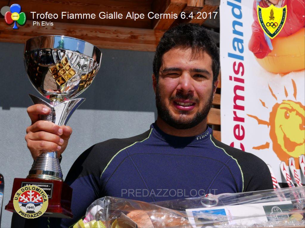 Trofeo Fiamme Gialle 2017 cermis slalom5 A Giordano Ronci lo slalom FIS del Cermis e il Trofeo Fiamme Gialle