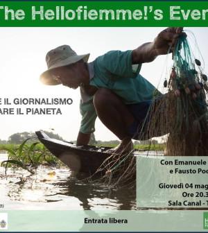 acqua e giornalismo per salvare il pianeta