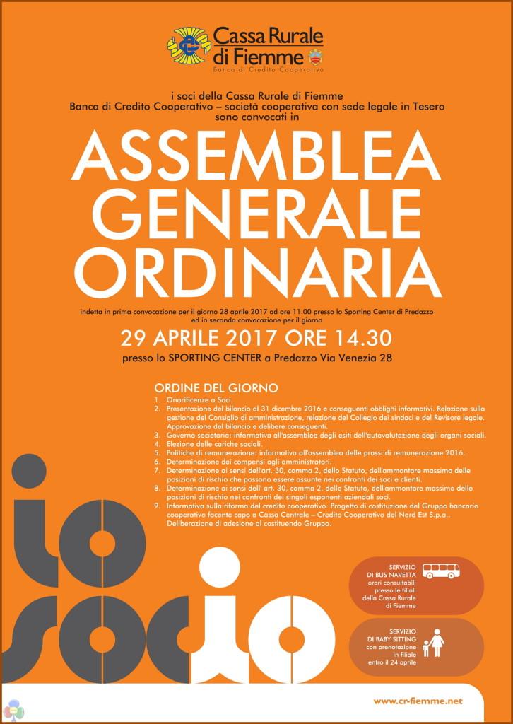 assemblea generale cassa rurale fiemme 2017 726x1024 Assemblea Generale Ordinaria 2017 Cassa Rurale di Fiemme