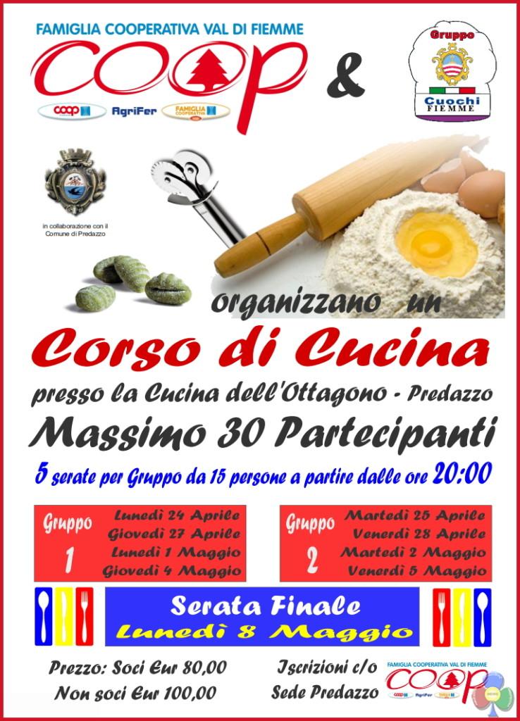 corso cucina cuochi fiemme 2017 738x1024 Corso di Cucina con i Cuochi e la Fam. Cooperativa di Fiemme