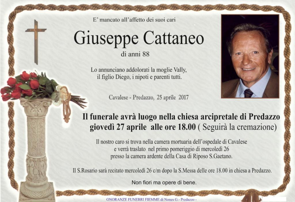 giuseppe cattaneo 1024x701 Necrologio, Giuseppe Cattaneo