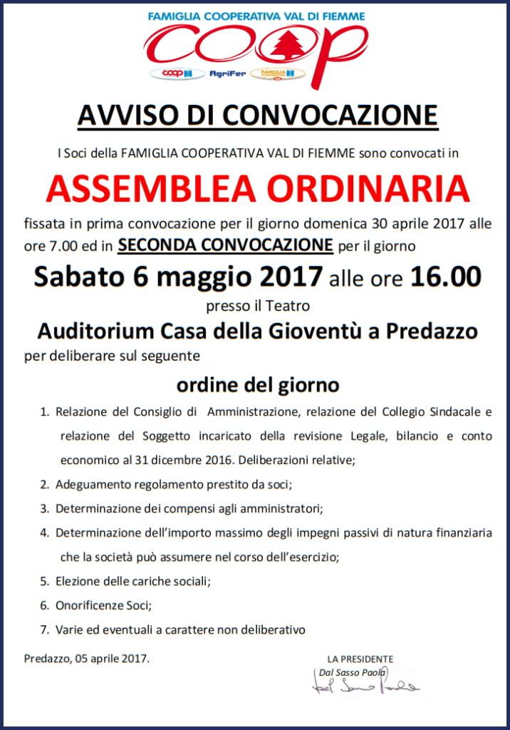 assemblea famiglia cooperativa fiemme 2017 716x1024 Assemblea 2017 Famiglia Cooperativa Val di Fiemme