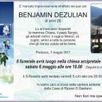 """benjamin dezulian 150x150 Benjamin Dezulian, 2° concorso """"CUORE E TALENTO"""""""