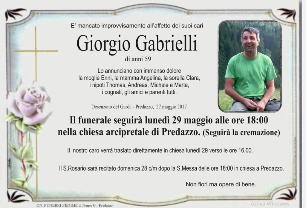 giorgio gabrielli 1024x697 Avvisi Parrocchia 28.5/4.6 Necrologio Giorgio Gabrielli