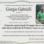 giorgio gabrielli 150x150 Avvisi Parrocchia 26 febbraio / 5 marzo