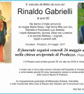 rinaldo gabrielli