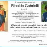 rinaldo gabrielli 150x150 Necrologi, Anna Ferraccioli, Marco Pellegrin, Romano Gabrielli