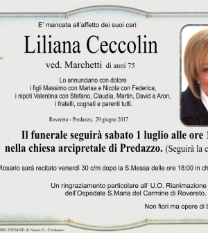 Ceccolin Liliana