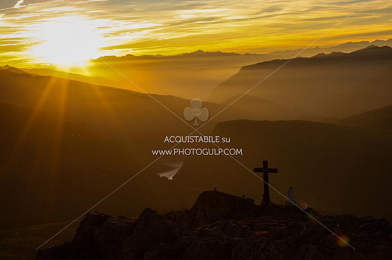 cristo pensante tramonto 2 Dalla Croce alla Meraviglia 2017, con Rai Uno al Cristo Pensante