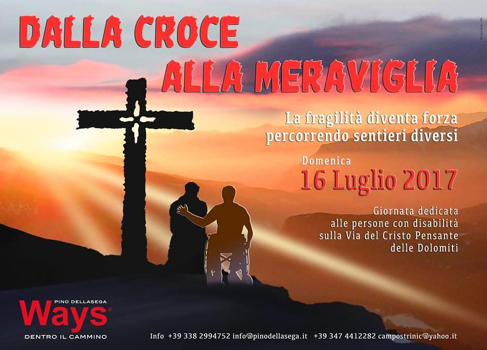 dalla croce alla meraviglia 2017 Dalla Croce alla Meraviglia 2017, con Rai Uno al Cristo Pensante