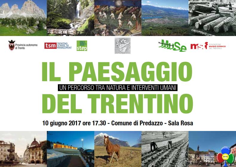 il paesaggio trentino a predazzo Il paesaggio del Trentino in mostra a Predazzo