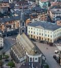 predazzo chiesa municipio