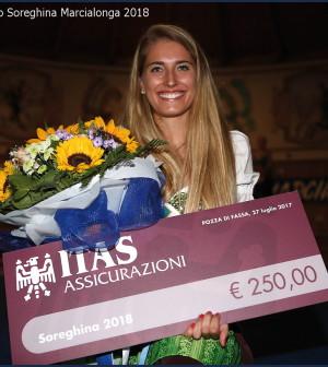 Eleonora Dellantonio eletta Soreghina Marcialonga 2018