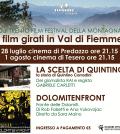 TRENTO FILM FESTIVAL A PREDAZZO E TESERO
