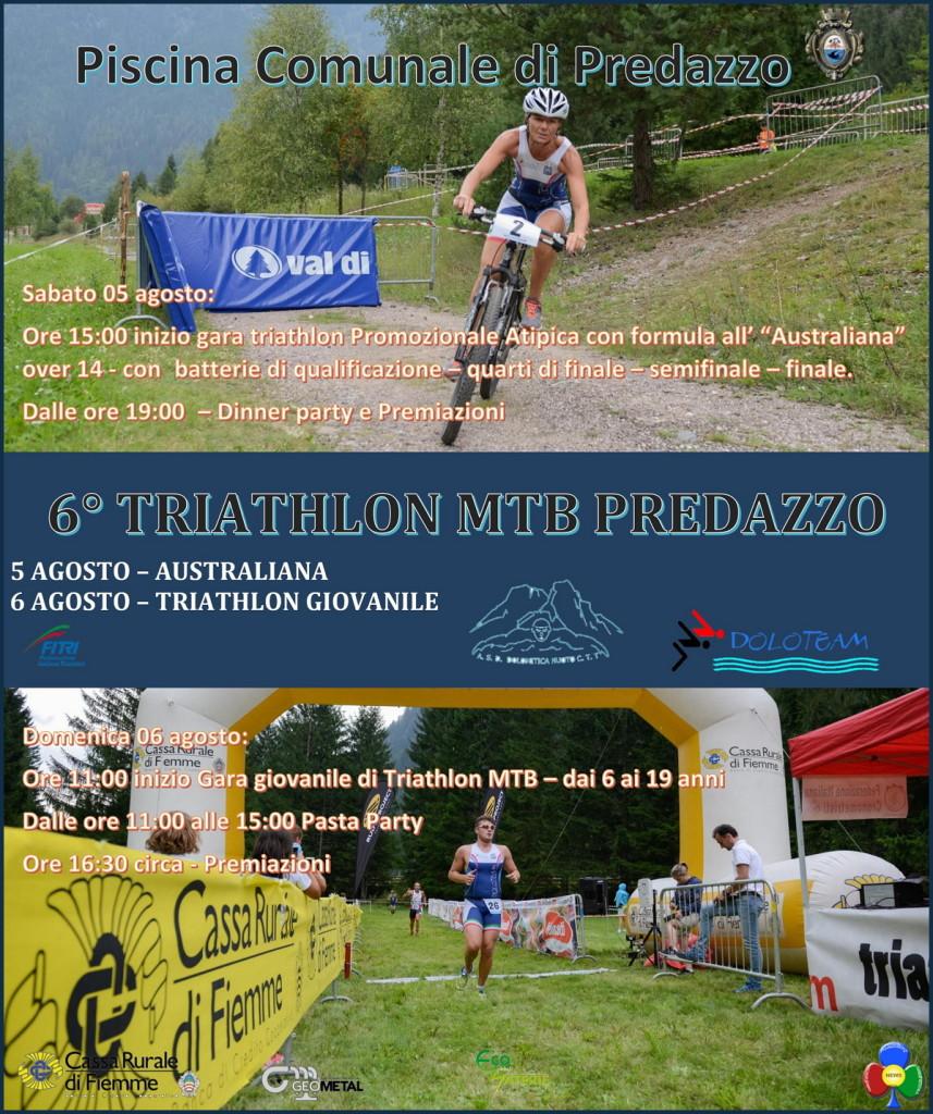 TRIATHLON MTB PREDAZZO 2017 857x1024 Us. Dolomitica, Rampikids e 6 ° Triathlon MTB Predazzo