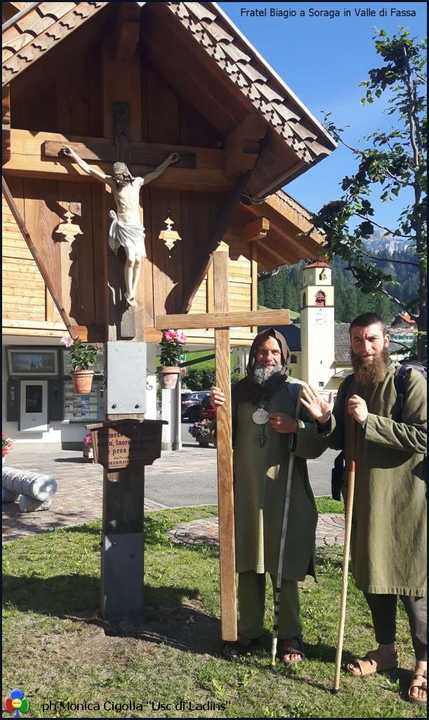 fratel biagio la usc di ladins Avvisi Parrocchia 9/16 luglio   Fratel Biagio Conte in Val di Fassa