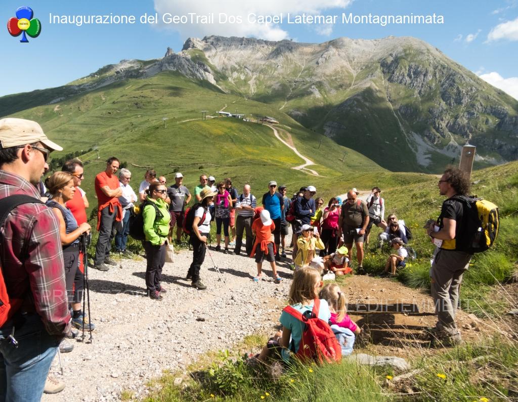 geotrail dos capel latemar montagnanimata inaugurazione17 Inaugurato il GeoTrail del Dos Capèl al Latemar   fotogallery