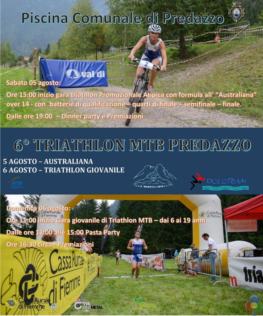 TRIATHLON MTB PREDAZZO 2017 852x1024 Festa dellAtletica e 6° Triathlon MTB di Predazzo