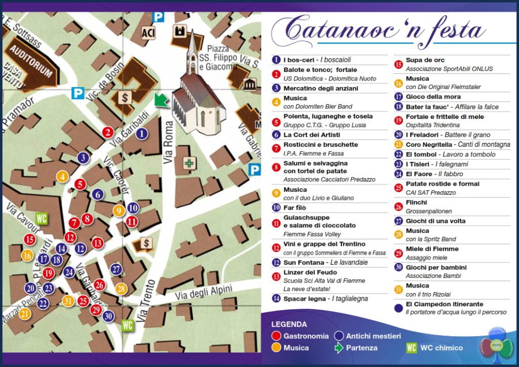 catanaoc 2017 predazzo a 1024x725 Catanàoc in festa 2017 a Pè de Pardac
