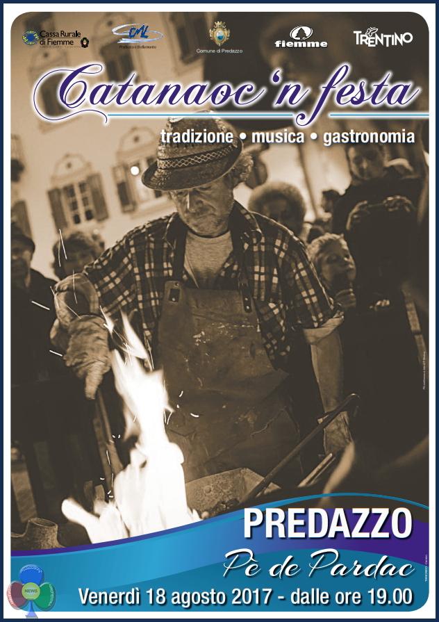 catanaoc 2017 predazzo b Catanàoc in festa 2017 a Pè de Pardac