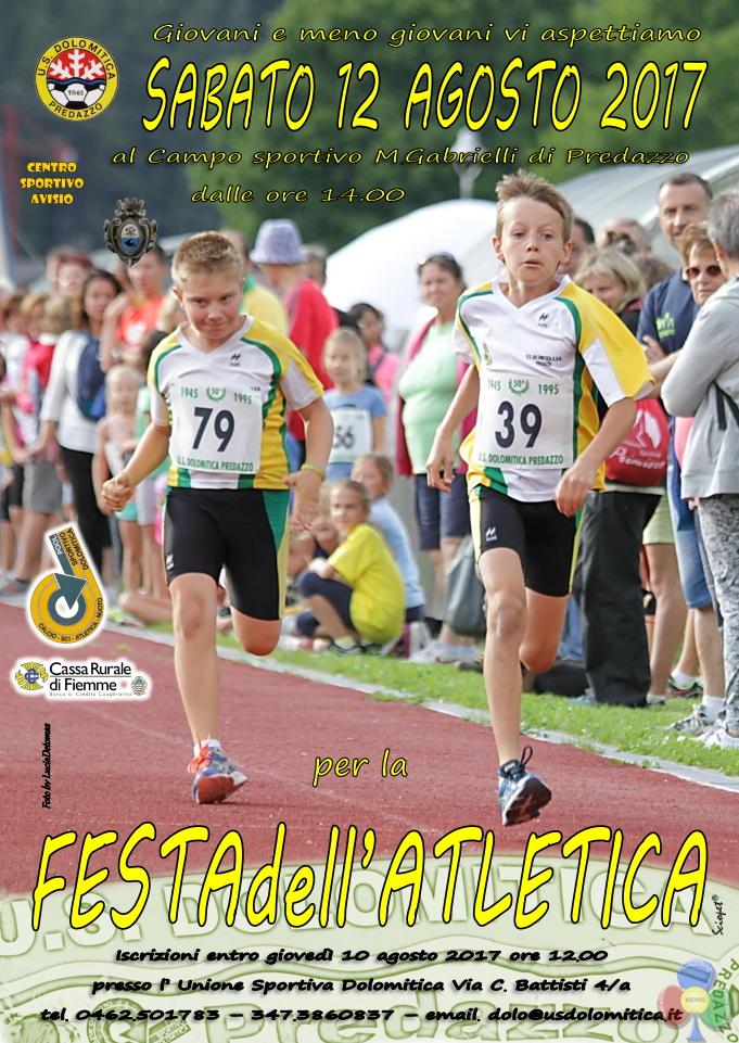 festa atletica dolomitica 2017 Eventi di Ferragosto a Predazzo e Bellamonte
