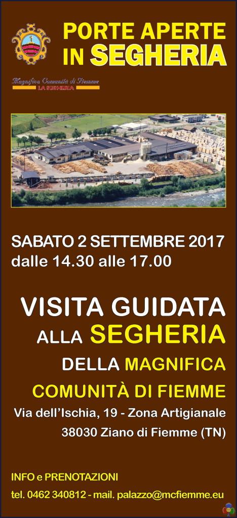 porte aperte in segheria ziano 468x1024 Porte aperte in Segheria il 2 settembre a Ziano di Fiemme