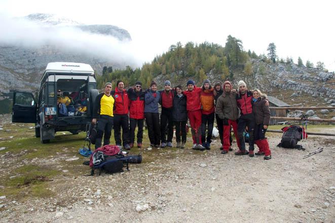 speleologi veneti Scoperto il più grande ghiacciaio nel ventre delle Dolomiti