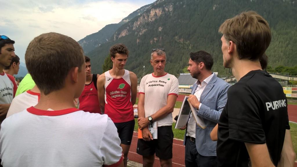 atletica leggera predazzo3 1024x577 Atletica Leggera, in 200 al Campo Sportivo di Predazzo