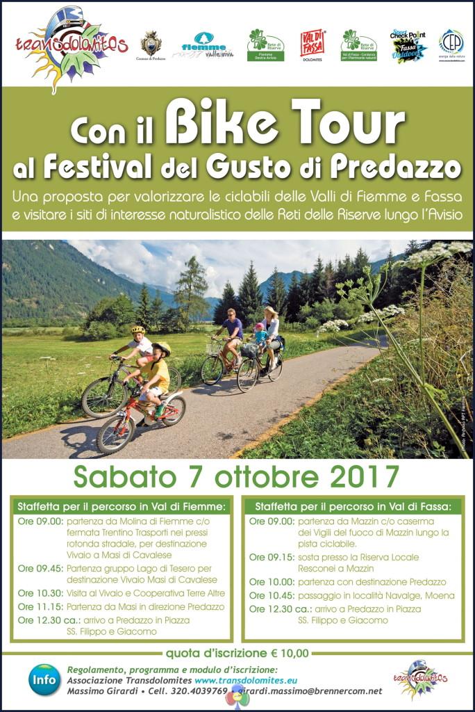 TRANSDOLOMITES BIKE TOUR 2017 684x1024 Desmontegada e dintorni, ricco fine settimana a Predazzo